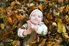 Child in a park Stock Photography