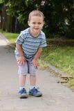 Child at park Stock Photo