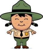 Child Park Ranger Royalty Free Stock Image