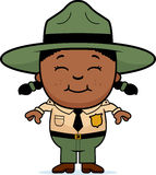 Child Park Ranger Stock Image