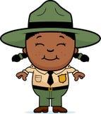 Child Park Ranger Stock Image