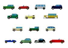 Child passenger cars Stock Image