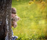 Child, Person, Human, Girl, Teddy Royalty Free Stock Photography