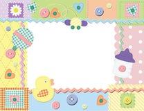 Child photo framework. Vector illustration Stock Photography