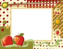 Child photo framework. Vector illustration Royalty Free Stock Images