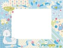 Child photo framework. Vector illustration Stock Photos