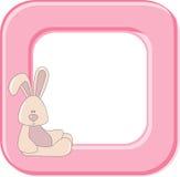 Child photo framework. Vector royalty free illustration