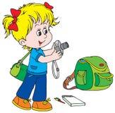 Child Photographer Royalty Free Stock Photography