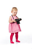 Child photographing Stock Photography