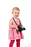 Child photographing Stock Photo
