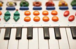 Child piano Stock Image