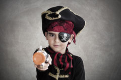 Child pirate Stock Images