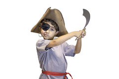 Child Pirate Costume Royalty Free Stock Photography