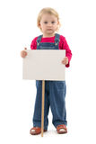Child with place Royalty Free Stock Photo