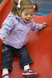 Child at Play Stock Image