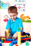 Child play construction set . Royalty Free Stock Photography