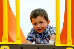 Child on play ground Royalty Free Stock Photography
