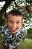 Child play laugh Royalty Free Stock Image