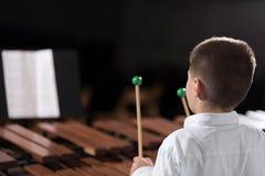 Child play music 2 Royalty Free Stock Photos