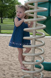 Child play in the park. Kids having summer fun outdoors at the park Stock Photography