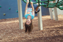 Child at playground Stock Image