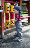 Child in playground Stock Photos
