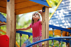Child on playground Stock Images