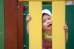 Child in the playground Stock Photography
