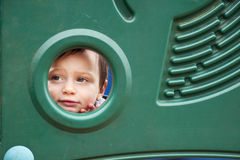 Child in playground Stock Image