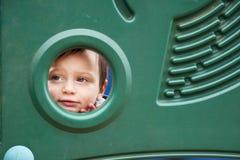 Child in playground Stock Image