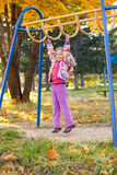 Child on the playground Stock Photography