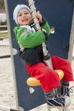 Child at playground Stock Photo