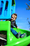 Child on the playground Royalty Free Stock Photography
