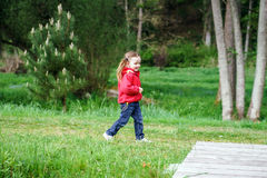 Child on a playground Stock Image