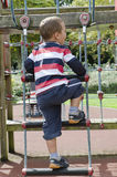 Child at playground Royalty Free Stock Photo