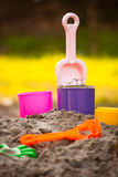 Sand Pail and Shovel Royalty Free Stock Image