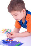 Child playing Royalty Free Stock Photography