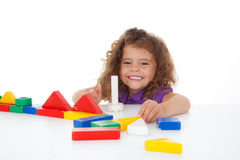 Child playing Royalty Free Stock Images