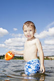 Child playing Royalty Free Stock Photos