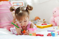 Child Playing Royalty Free Stock Image