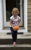 Child playing ball Royalty Free Stock Photo