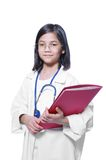 Child playing doctor Royalty Free Stock Images