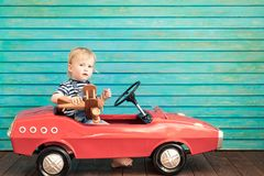 Summer vacation and travel concept Stock Image