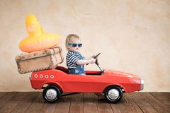 Summer vacation and travel concept Royalty Free Stock Images