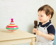 Child Playing Stock Photography