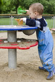 Child playing at playground Stock Photography