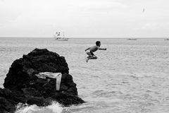 Child playing Stock Image