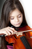 Child playing violin   Stock Photos