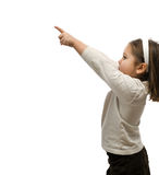 Child Pointing Stock Image