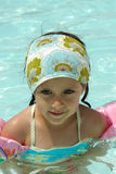 Child in pool Stock Photos